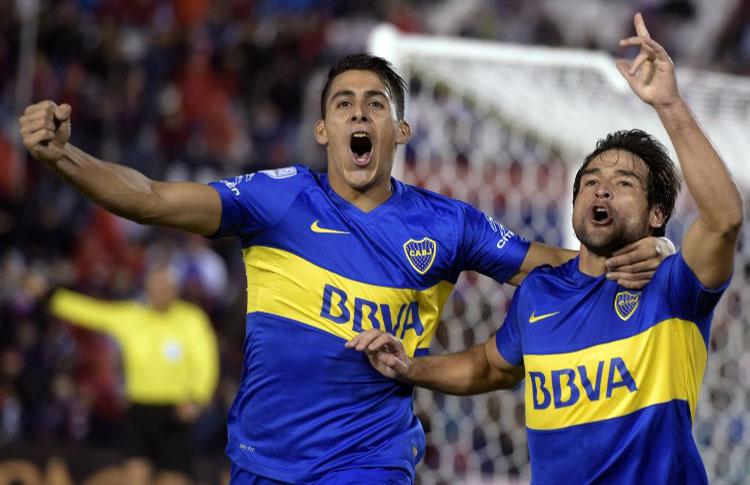 Ganaron Boca con golazo de Lodeiro, Sao Paulo golea y Ind. del Valle a River
