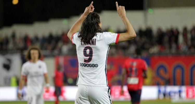 Cavani y un nuevo hat-trick con el PSG