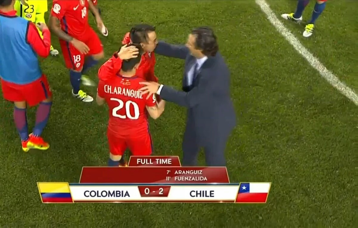 Chile finalista de CA2016