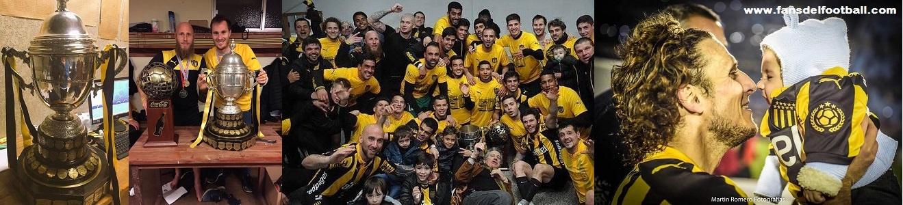 Peñarol Campeón Uruguayo 2015/16 derrotando 3-1 a Plaza Colonia
