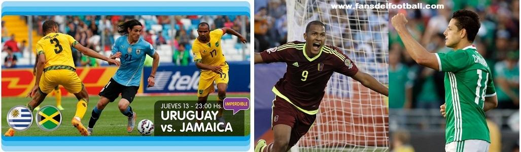 Uruguay por el orgullo ante Jamaica | México y Venezuela por el 1er lugar