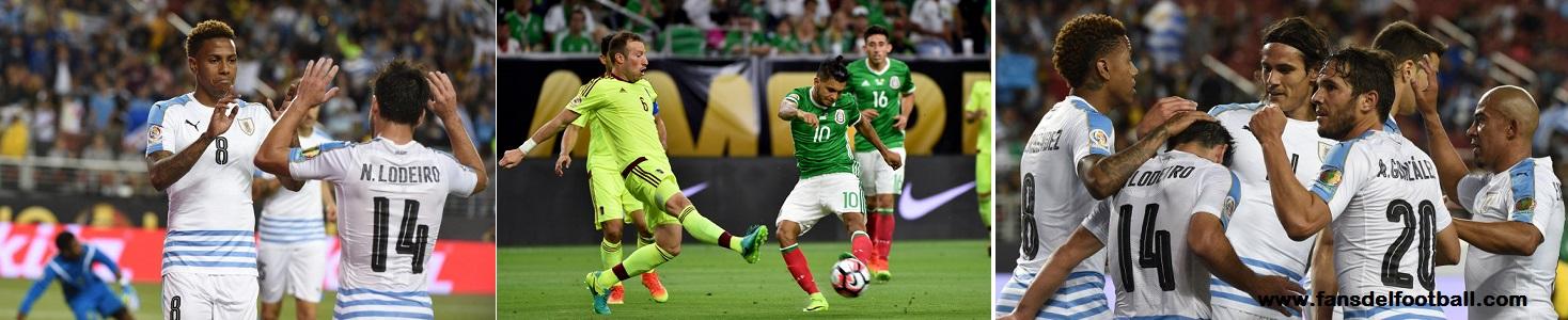 CA2016 – Uruguay cierra la copa ganando a Jamaica. Mexico y Venezuela empatan a 1 gol