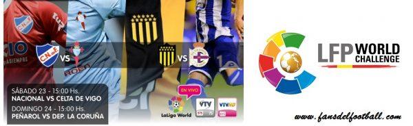 La Liga World Challenge en Montevideo