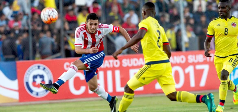 Colombia y Paraguay inauguraron el Sudamericano Sub-20 con un empate 1-1