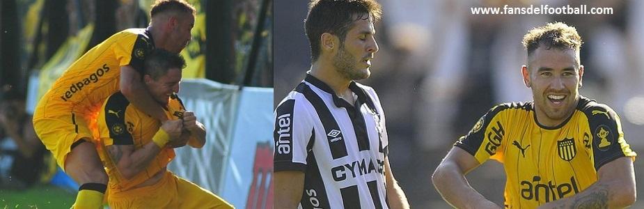 Peñarol ganó, gustó y goleo a Wanderers