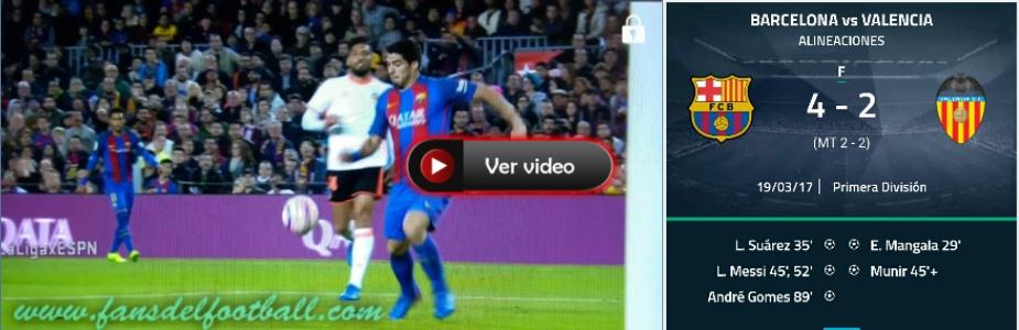 Barcelona gana con uno de Suarez y 2 de Messi