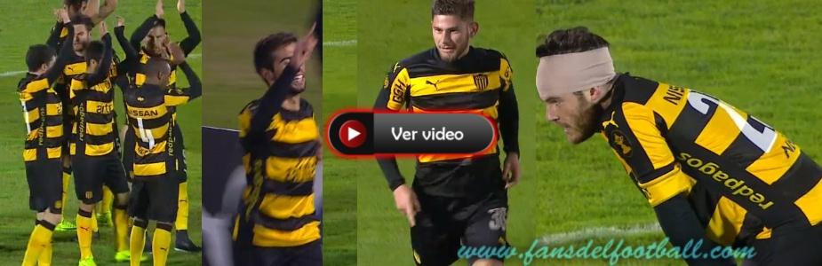 Peñarol gana al El Tanque con goles de la cantera
