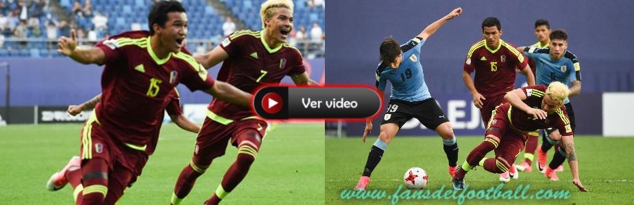 Uruguay cae por penales con Venezuela y jugara por el 3er puesto