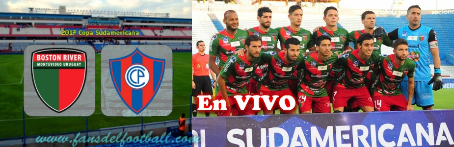 En vivo – Boston River vs Cerro Porteño – Copa Sudamericana