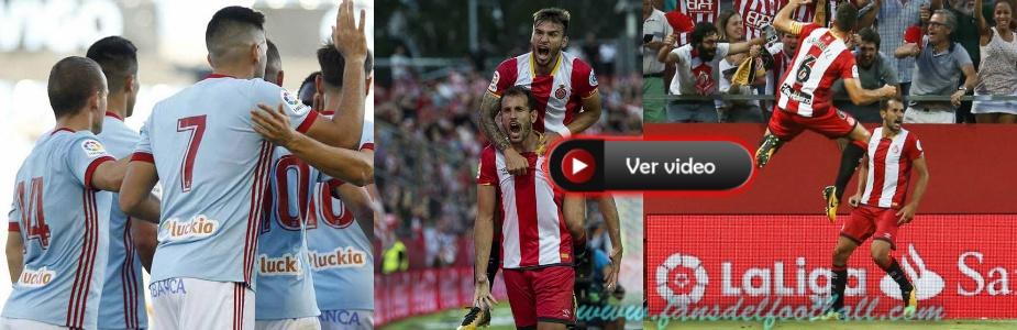 Goles Uruguayos en el arranque de la Liga Española