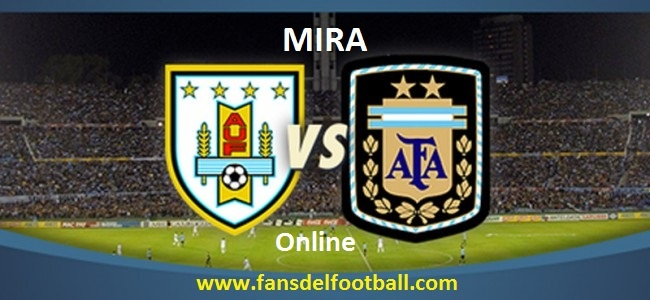 Uruguay vs Argentina en vivo online Eliminatorias Sudamericanas