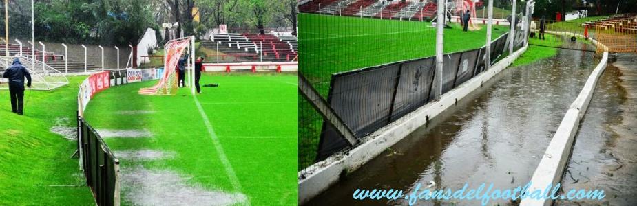 Suspendido por lluvias y Nacional tendra 48 hrs menos de descanso previo al Clasico