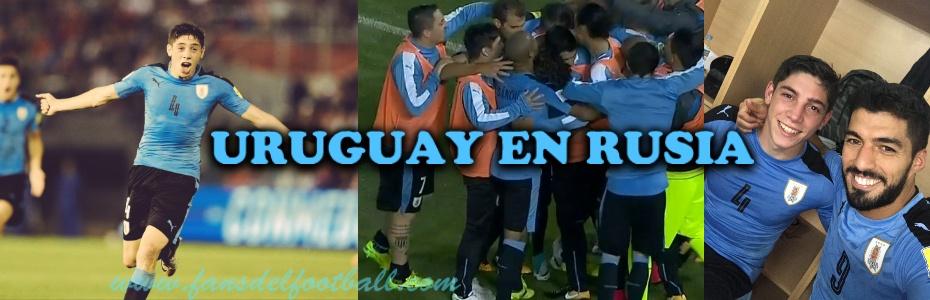 Uruguay sella el pasaporte a Rusia con gol de Valverde