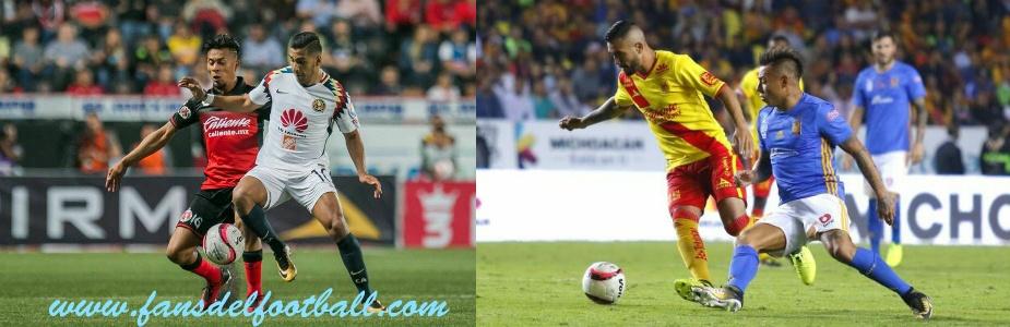 Vasquito Aguirregaray y Seba Sosa con buenos partidos en el Fútbol Mexicano