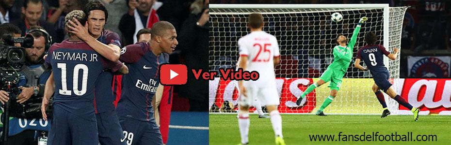 PSG paso por arriba al Bayern con goles de Dani Alves, Cavani y Neymar