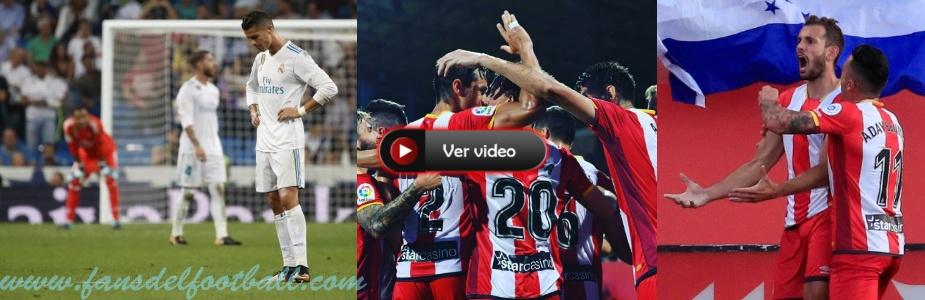 Girona gana 2-1 al Real Madrid con gol de Stuani