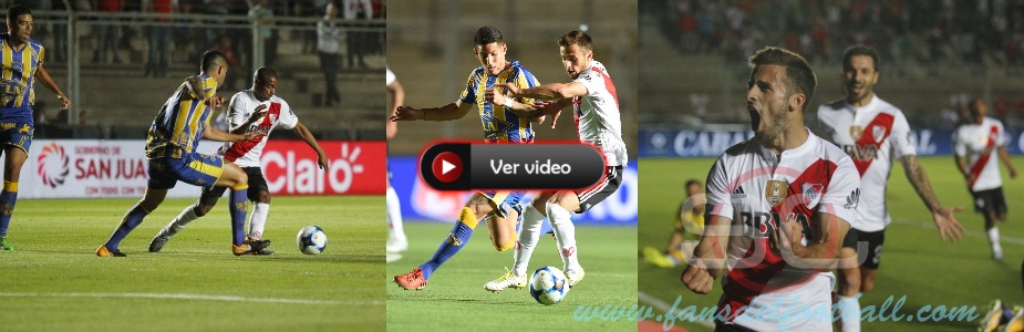 Primer gol de Saracchi en River Plate por Copa Argentina