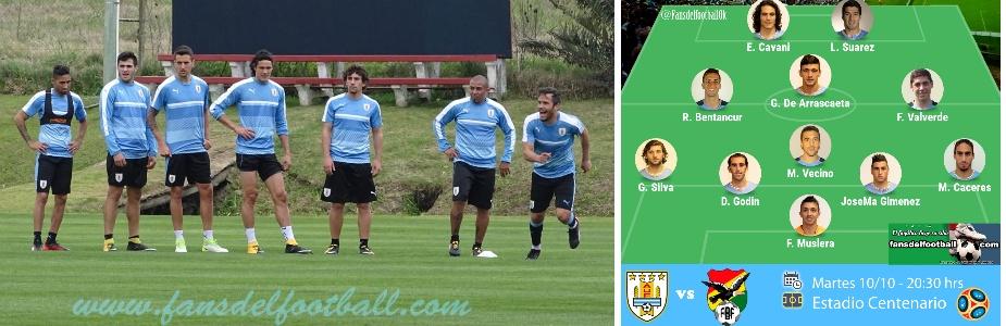 Uruguay con medio campo renovado y ofensivo