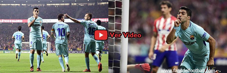 Barcelona empata con Atletico Madrid con gol de Luis Suarez