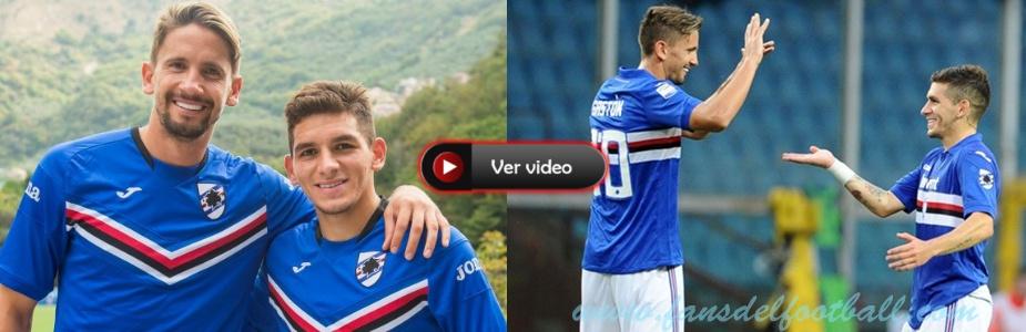 Gaston Ramirez convirtio en Sampdoria y sigue siendo figura Torreira