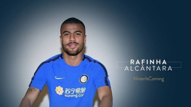 Rafinha del Barça al Inter