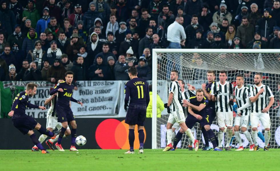 Juventus se dejó empatar del Tottenham y se complica