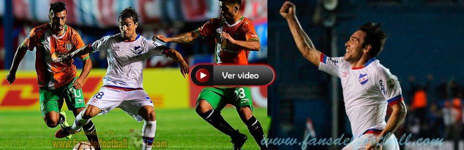 Nacional clasificado a fase de grupos de Copa Libertadores