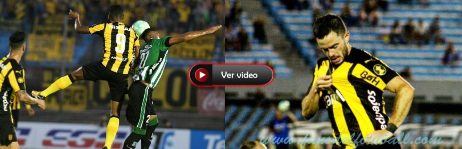 Peñarol arranca ganando a Racing con golazo de Lucas Hernandez