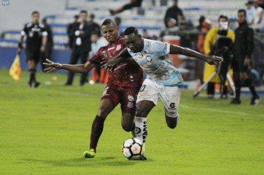 Técnico Universitario no aprovechó la superioridad numérica y empató con Guayaquil City