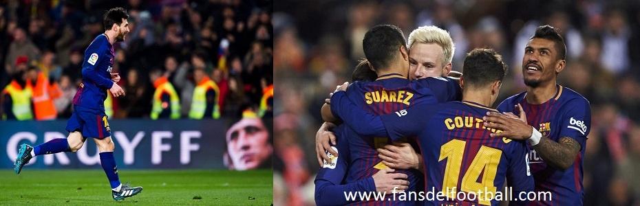 Luis Suarez y Messi comandan el Barca para vapulear al Girona