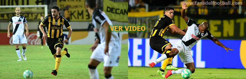 Peñarol y Danubio empataron a 1 gol por la fecha 9 del Apertura