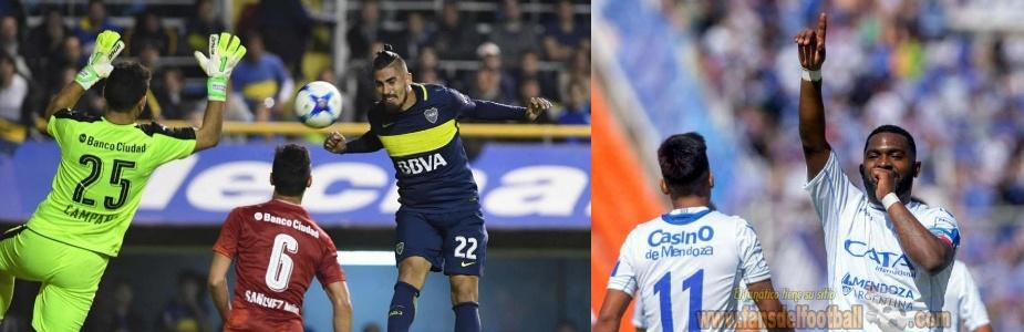 Superliga Argentina: perdio Boca y el Goleador es Uruguayo