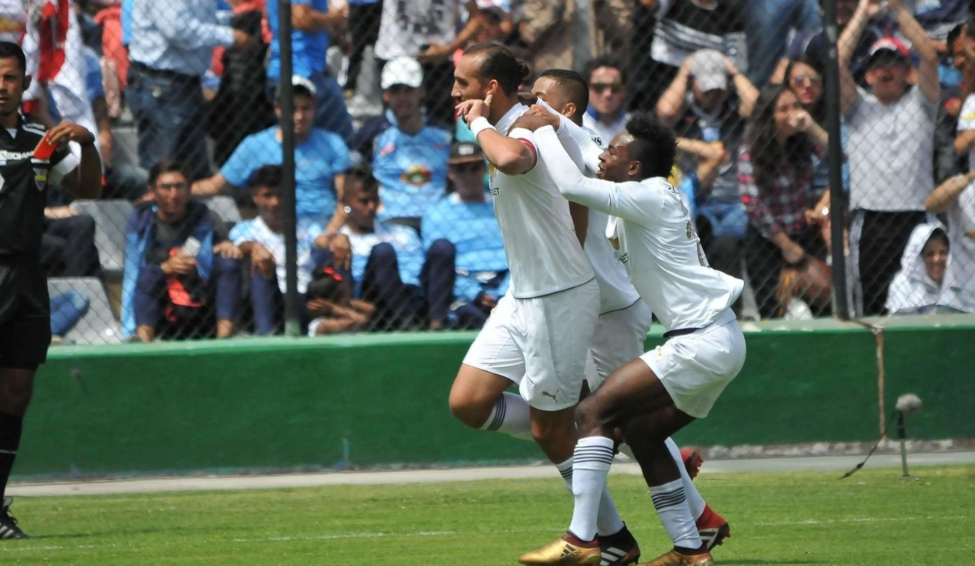 Con gol del «Pirata» Barcos sobre el final, Liga de Quito derrotó en Ambato a Macará