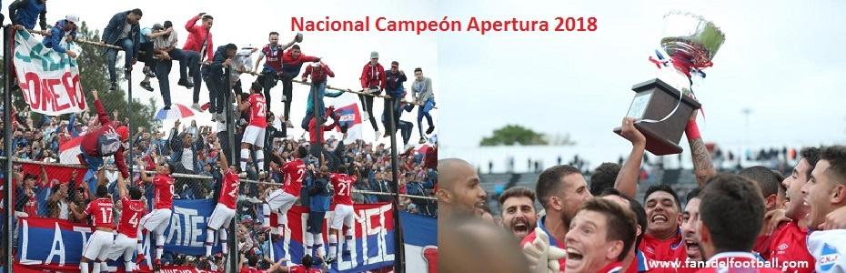 Finalizo el Torneo Apertura con Nacional Campeon