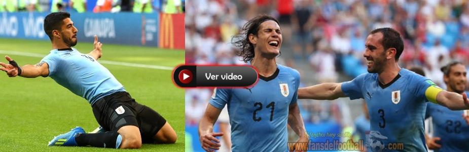 Uruguay golea a Rusia y es 1ero del Grupo A camino a Octavos