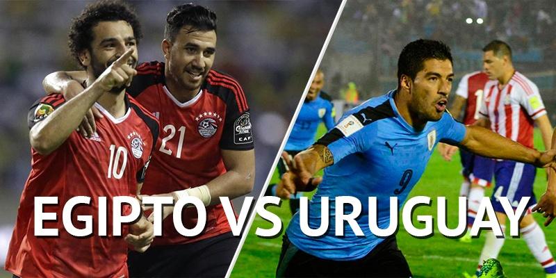Uruguay vs Egipto por la fecha 1 del grupo A – Rusia 2018