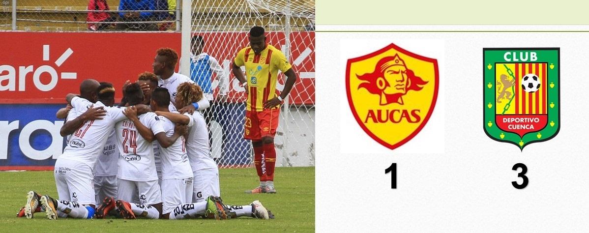 Deportivo Cuenca se tomó Chillogallo y venció a Aucas
