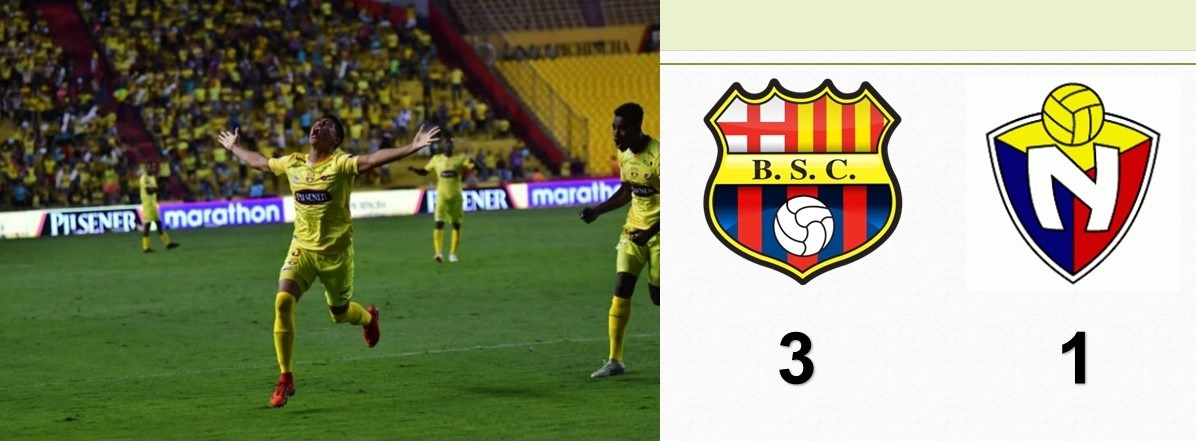 Barcelona venció a El Nacional y comienza bien la segunda etapa