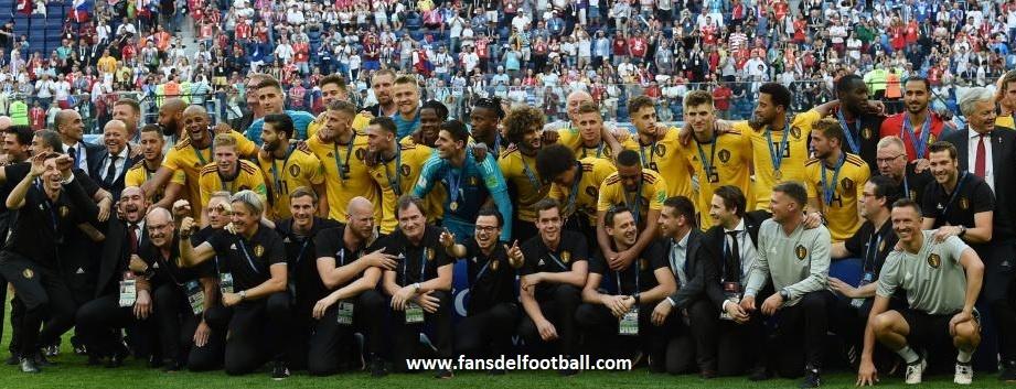 Belgica gana a Inglaterra para terminar como tercero en el Mundial