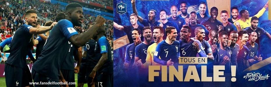 Francia derrotó a Bélgica y jugará la final del mundial Rusia 2018