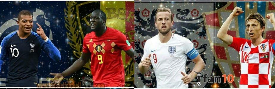¿Francia, Bélgica, Inglaterra o Croacia?