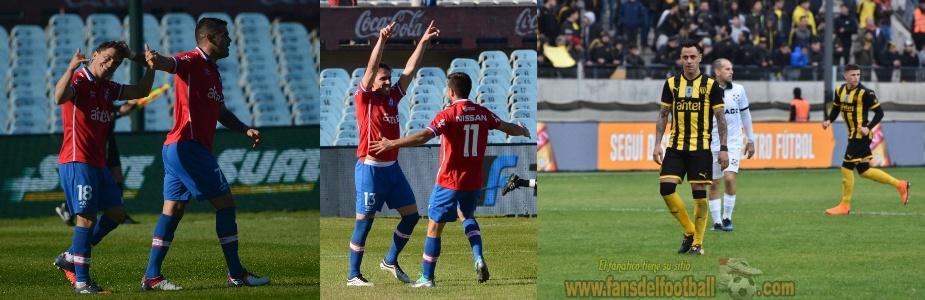 Torneo Clausura fecha 3 tiene a Nacional lider con puntaje perfecto