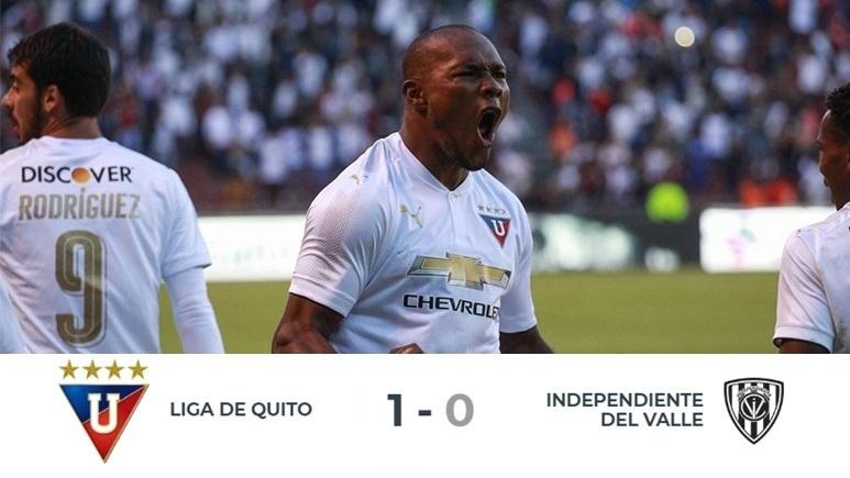 Liga de Quito de Pablo Repetto y Gastón Rodríguez volvió a ganar