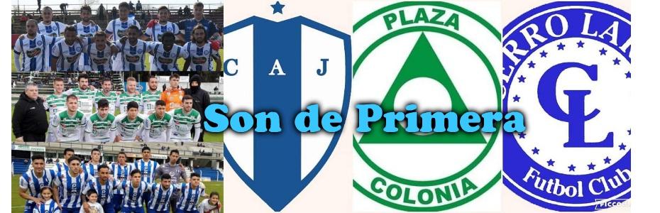 Cerro Largo, Juventud y Plaza Colonia son de Primera