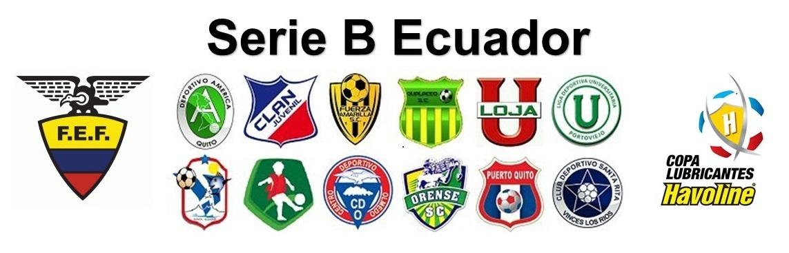Resumen de la fecha 34 de la Serie B del Fútbol Ecuatoriano