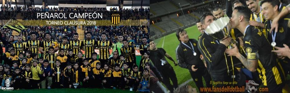 Peñarol Campeon del Torneo Clausura 2018