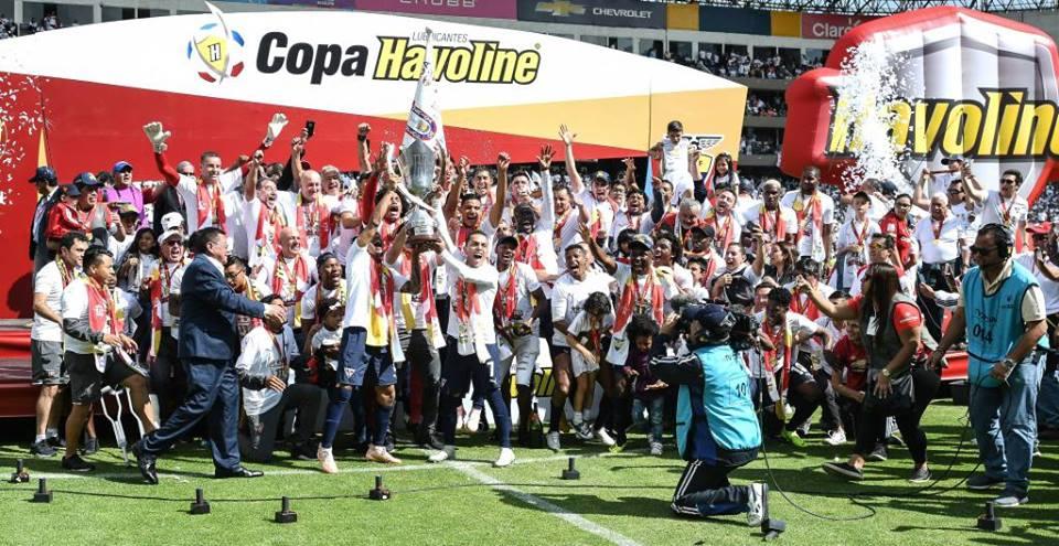 Liga de Quito campeón de Ecuador 2018