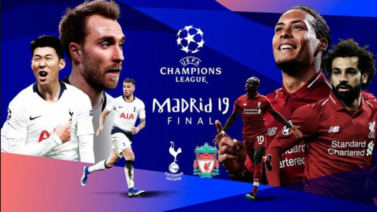 En vivo: Final Champions League: Tottenham vs Liverpool