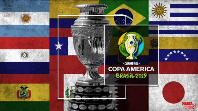 Calendario y donde ver la Copa America 2019