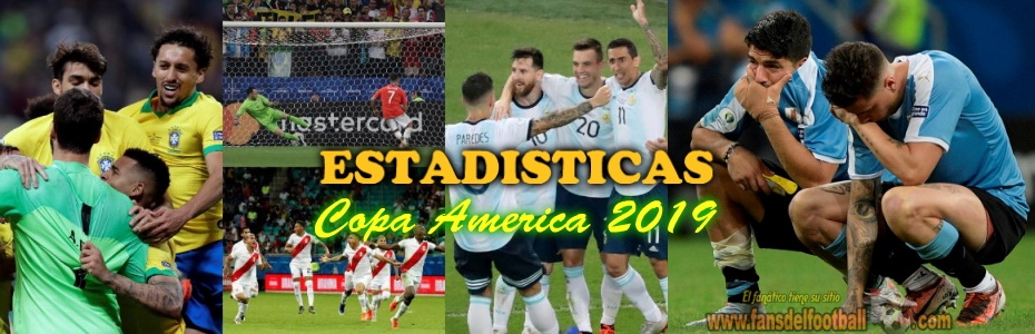 Datos que dejaron los cuartos de Copa America